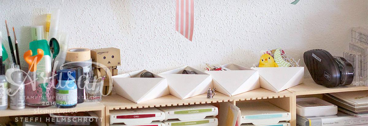 Origami Schale aus Papier falten