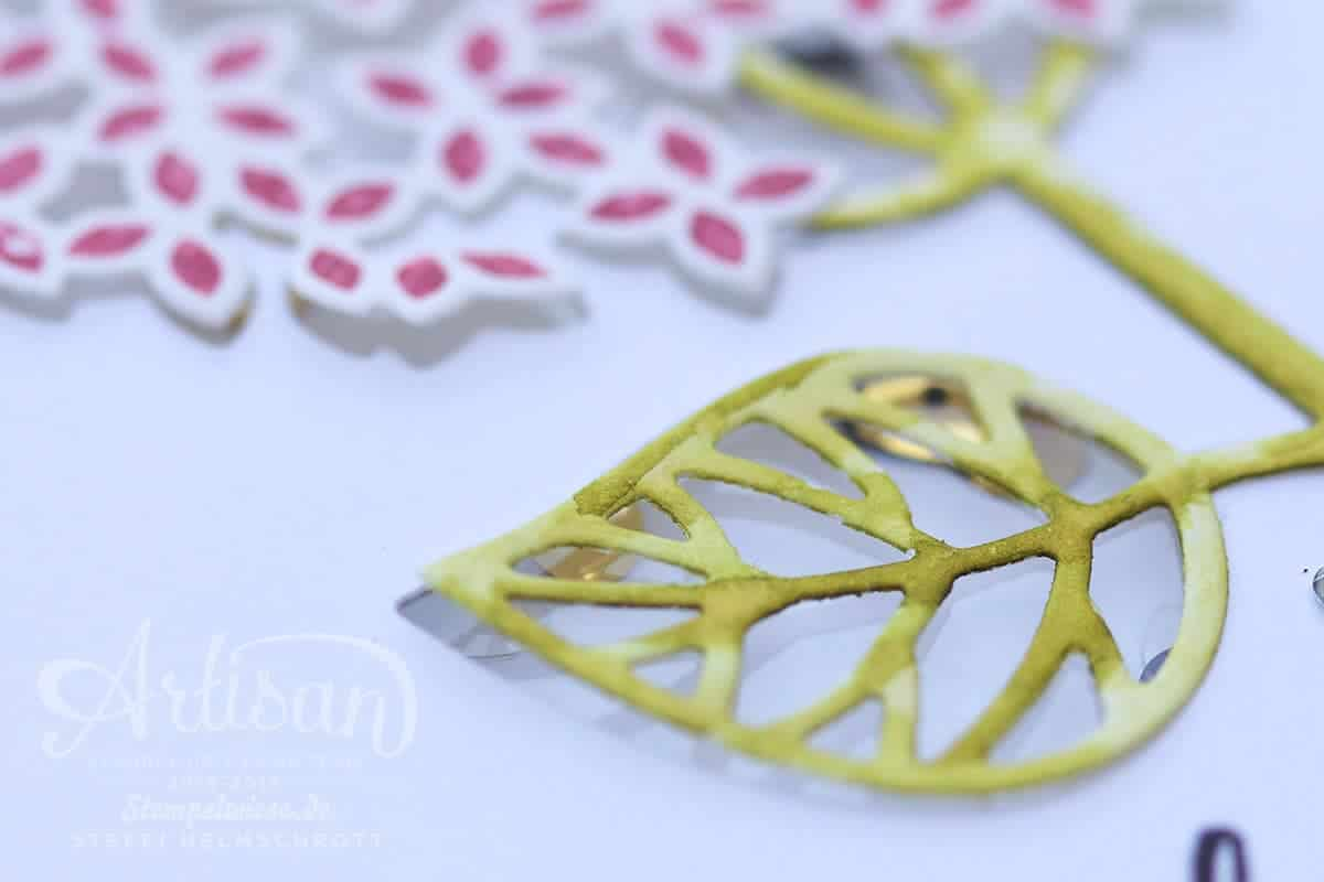 Stampin' Up! - Artisan Designteam - Wald der Worte - Beautiful Branches - Shaker Card - Stempelwiese