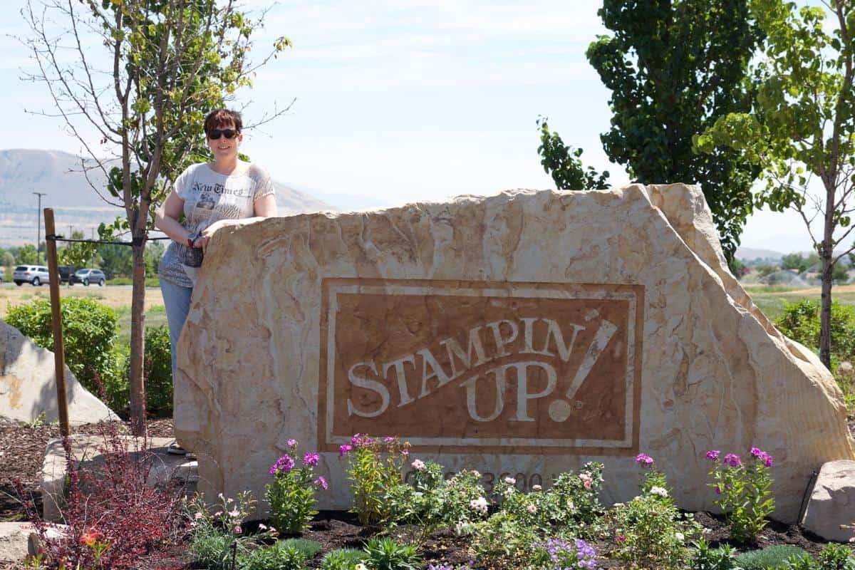 Steffi Helmschrott bei Stampin' Up! in Utah