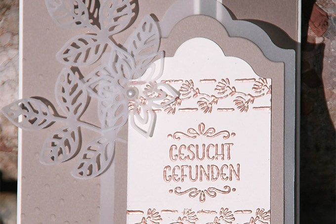 Waltraud Hattinger Hochzeitskarte