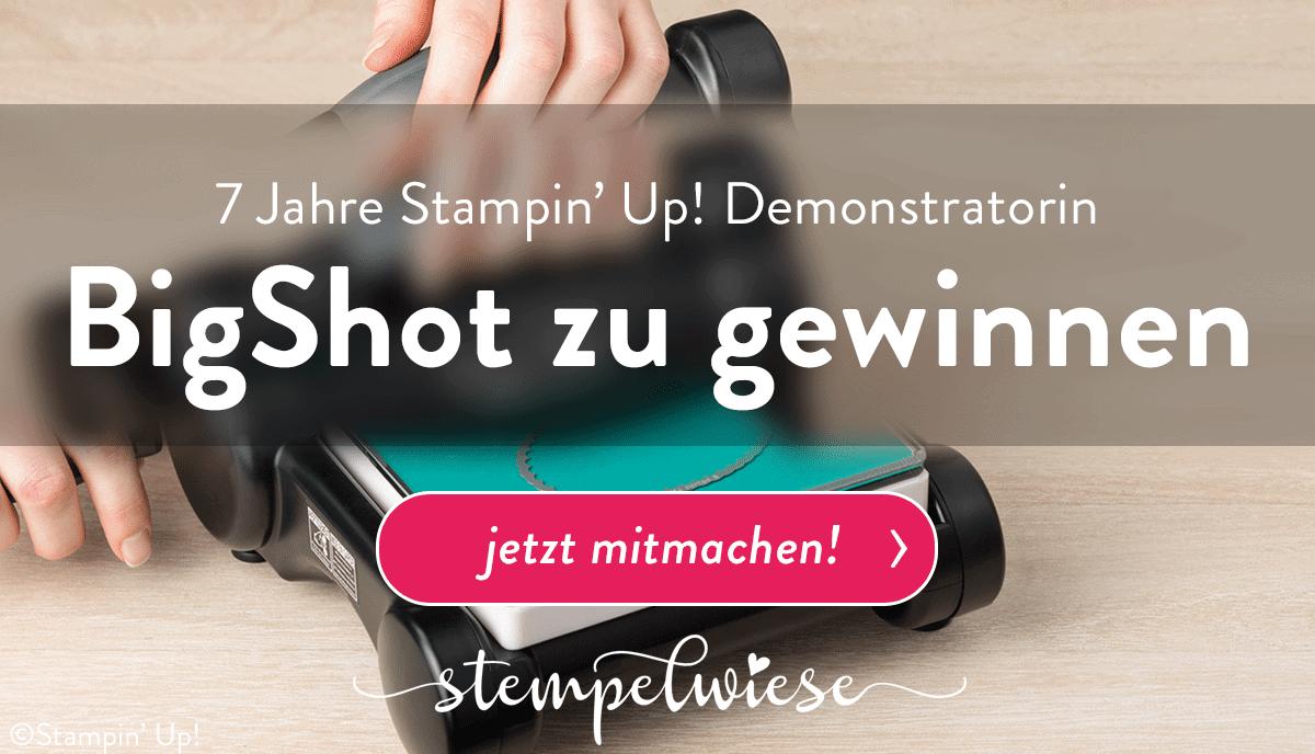 7 Jahre Stampin' Up! Demonstratorin Gewinnspiel