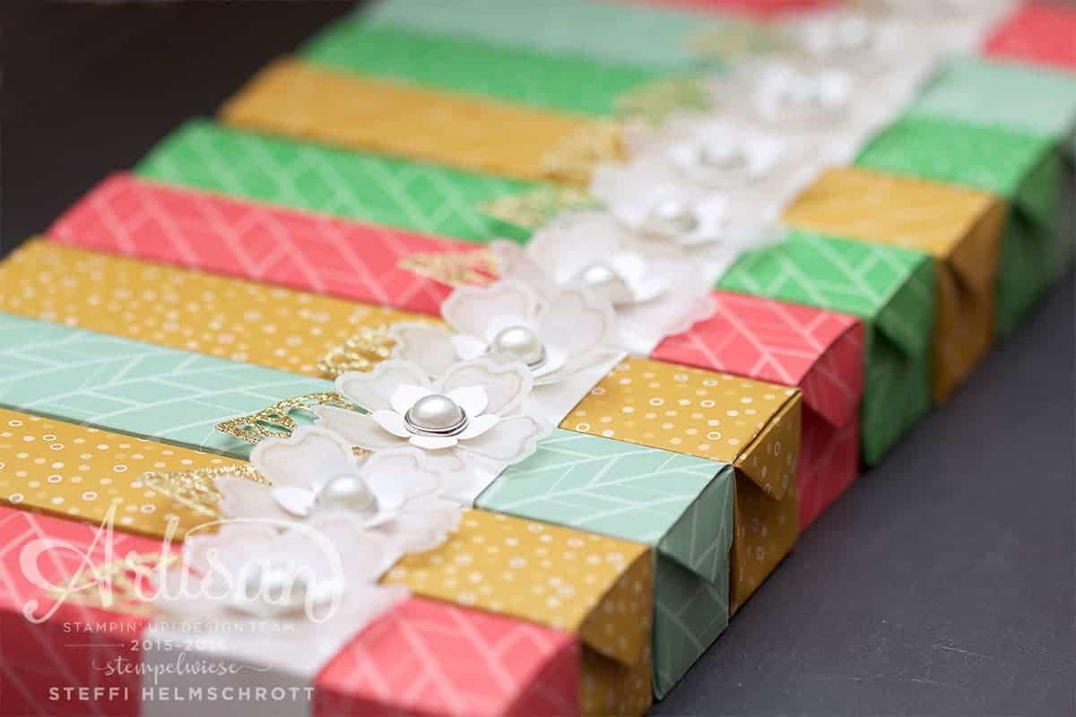 Origami Stifte Box selber falten