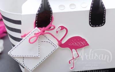 Handtasche aus Papier
