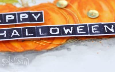 Artisan Blog Hop – Halloweenkarte in 3 Varianten