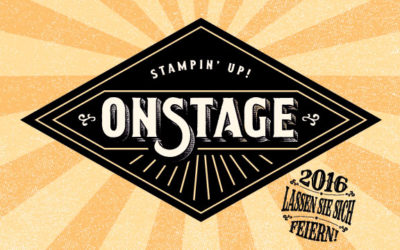 Stampin' Up! OnStage 2016 Rückblick
