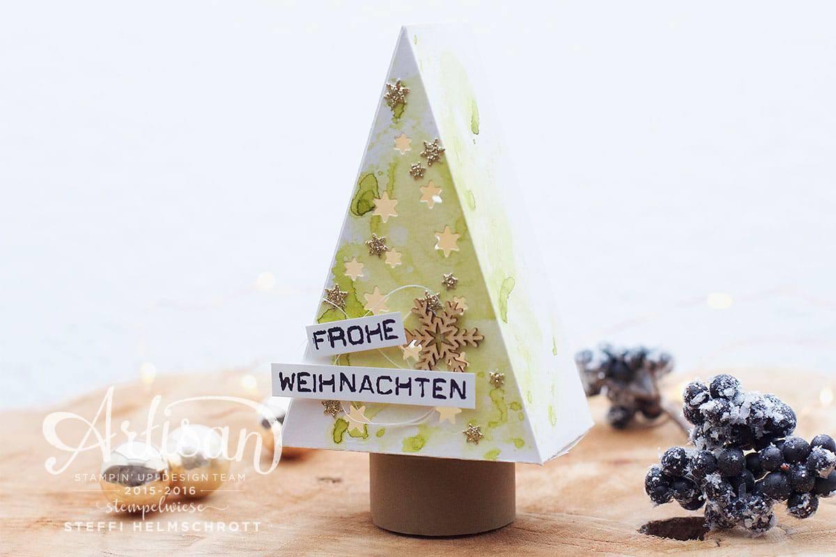Weihnachtsbaum mit Teelicht #gdp67 2