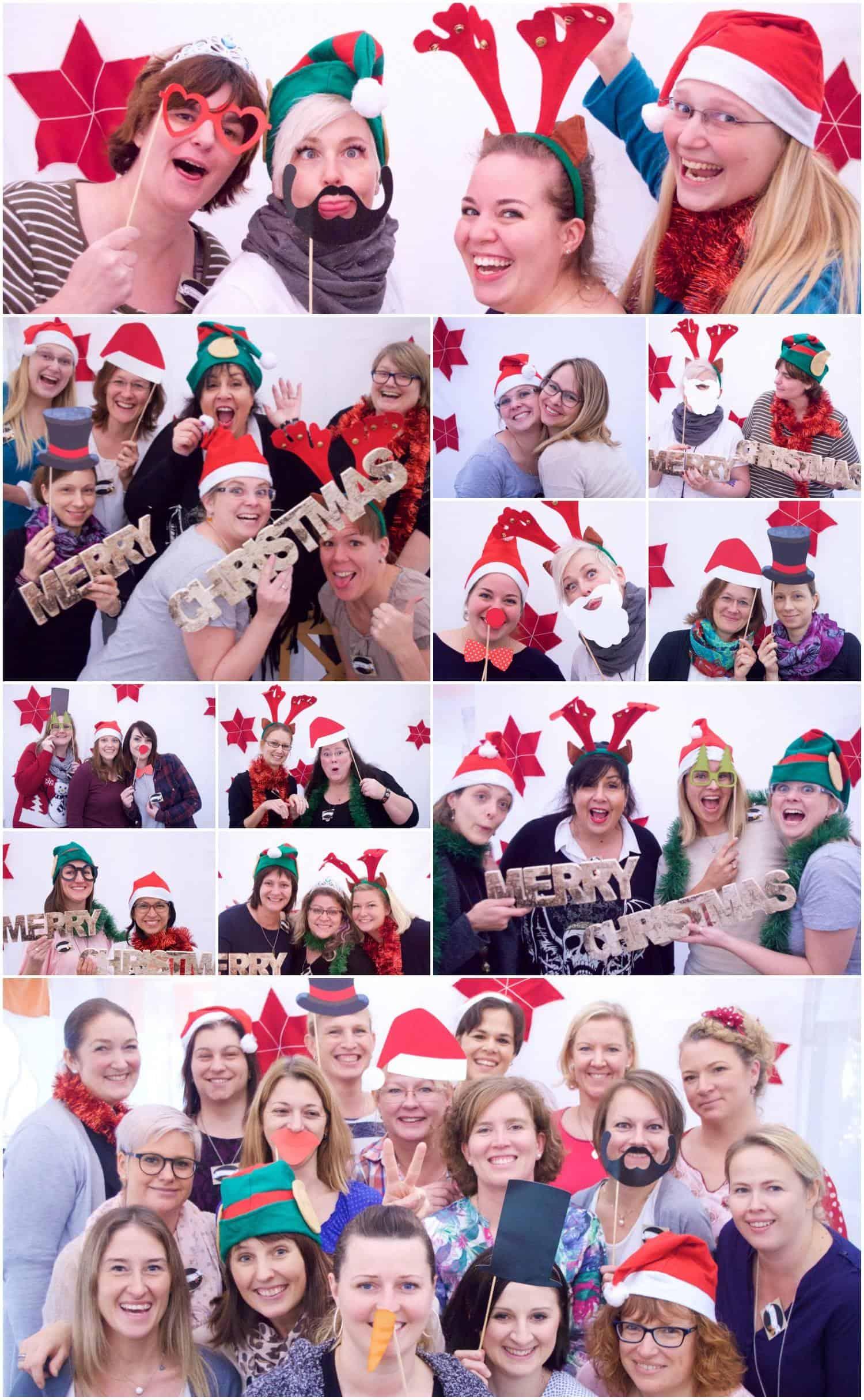 Team Stempelwiese - Weihnachtsfeier 2016 4