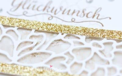 Hochzeitskarte mit Liebe zum Detail #GDP70