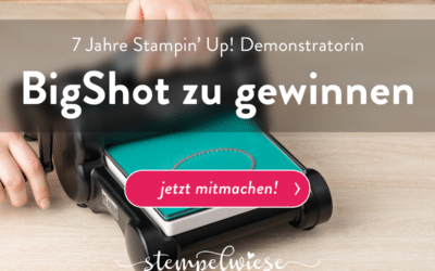 Verlosung: 7 Jahre Stampin' Up! Demonstratorin
