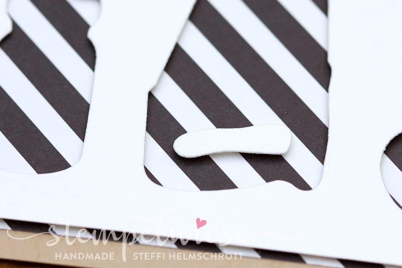 Grusskarte für Männer - Thinlits Werkzeugkasten - mit Video Anleitung - Stampin' Up! - Stempelwiese
