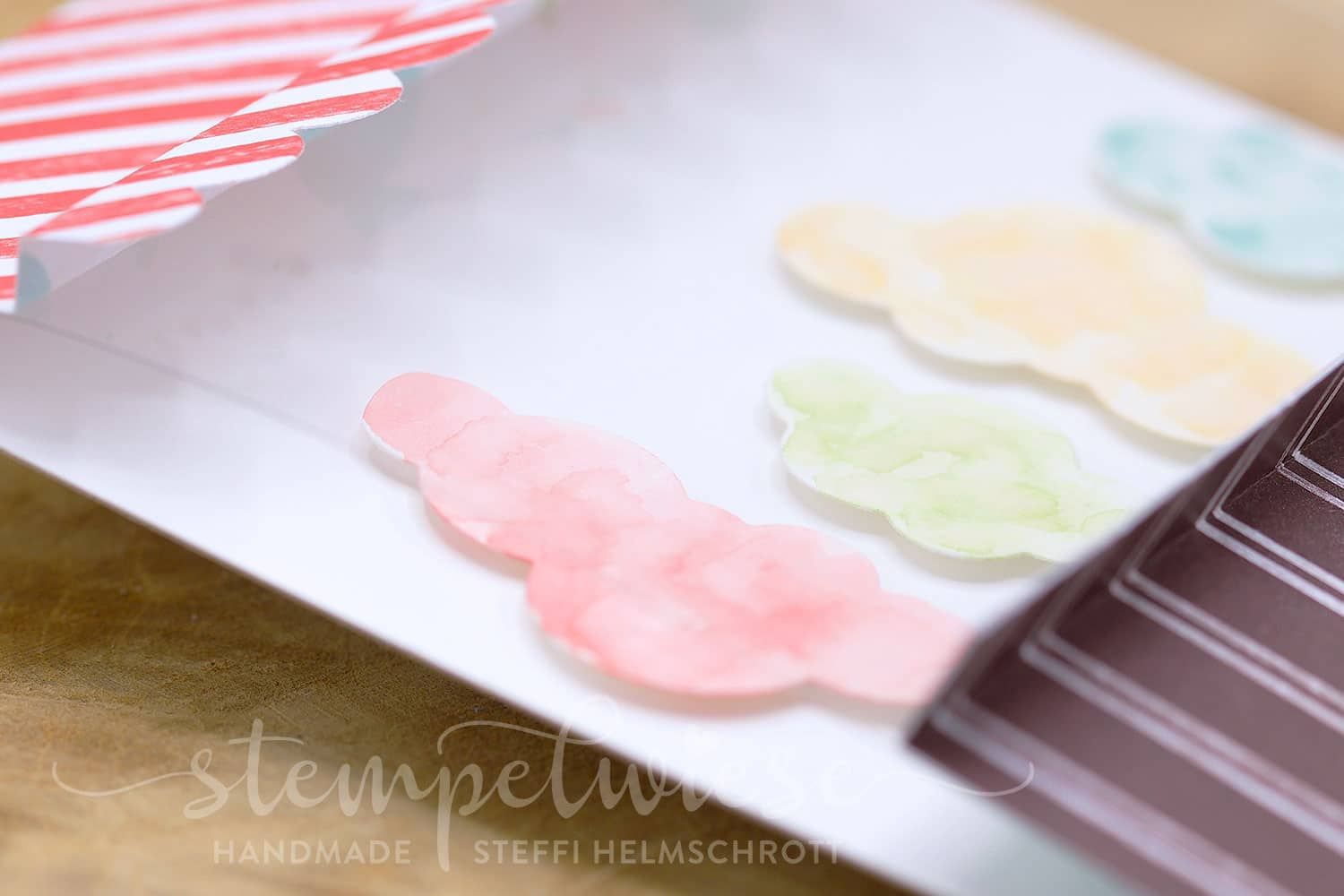 Grusskarte mit Zuckerwatte - Cotton Candy Shop - Stampin' Up! - Stempelwiese