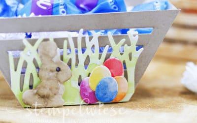 Schnelles Osterkörbchen (mit Video)