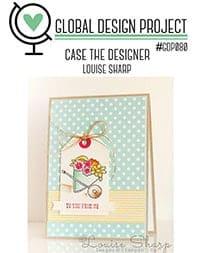 Geburtstagskarte mit Cupcake #GDP80 1