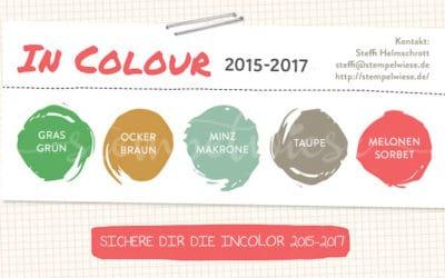Sicher dir noch die InColor 2015-2017