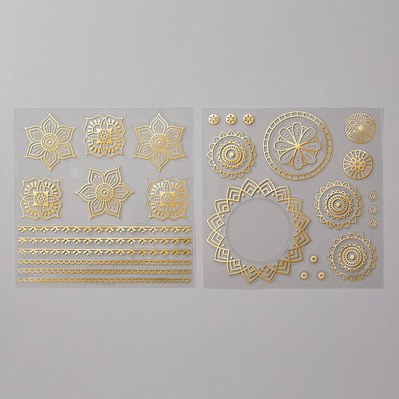 Vinylaufkleber Orient In Gold