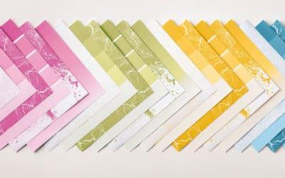 Designerpapier Share – Musterpaket 2017