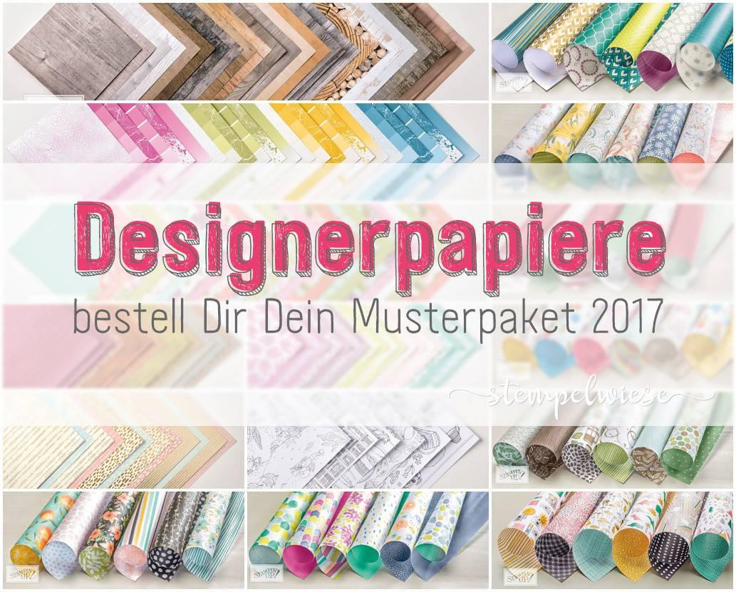 Designerpapier Share - Musterpaket 2017 1