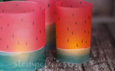 Wassermelone Windlichter – Blogparade (mit Video)