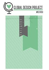 Geburtstagskarte mit Kaffeepause - Designerpapier Kaffeepause - Banner - Stampin' Up!  - Stempelwiese -  GDP98