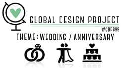 Goldene Hochzeit Glückwunschkarte #GDP99