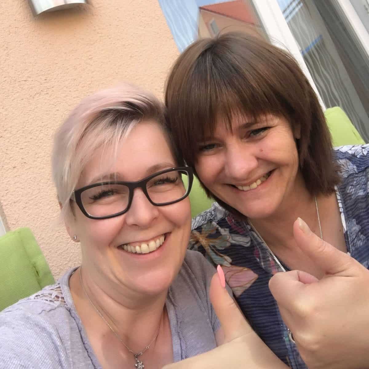 Jeanette Egemann und Steffi Helmschrott