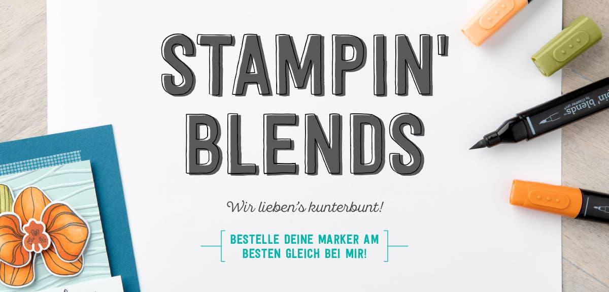 Stampin' Blends – neue Marker von Stampin' Up! 1