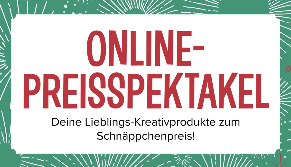 Online-Preisspektakel bei Stampin' Up! 1