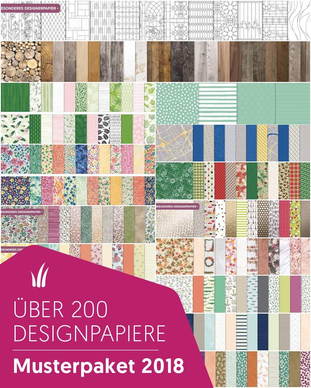 Designerpapier Share - Musterpakete 2018 1