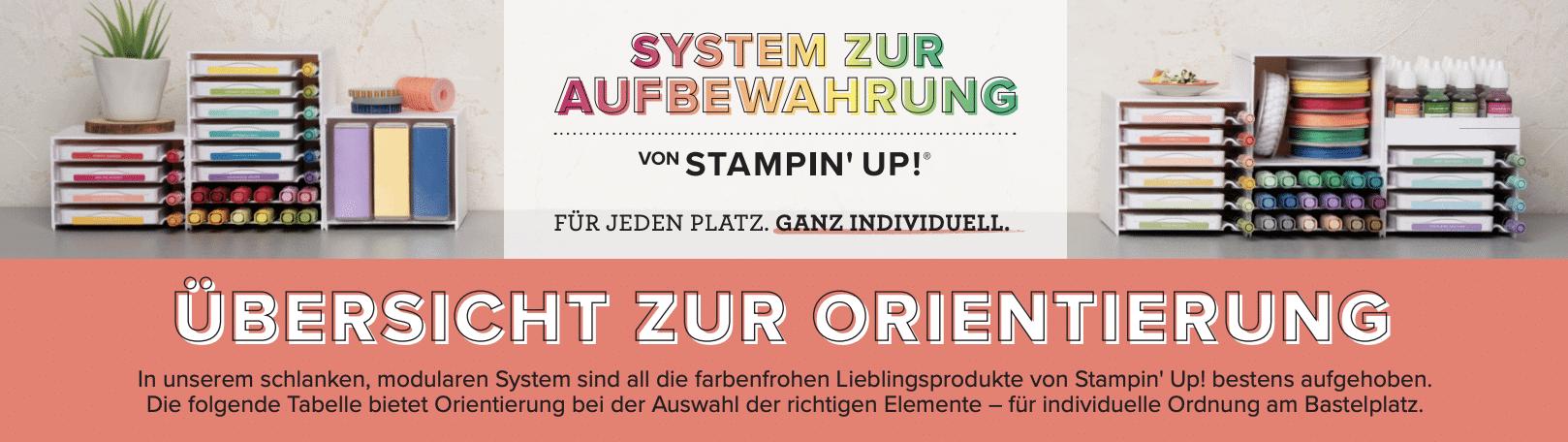 Neues Aufbewahrungssystem von Stampin' Up! 2