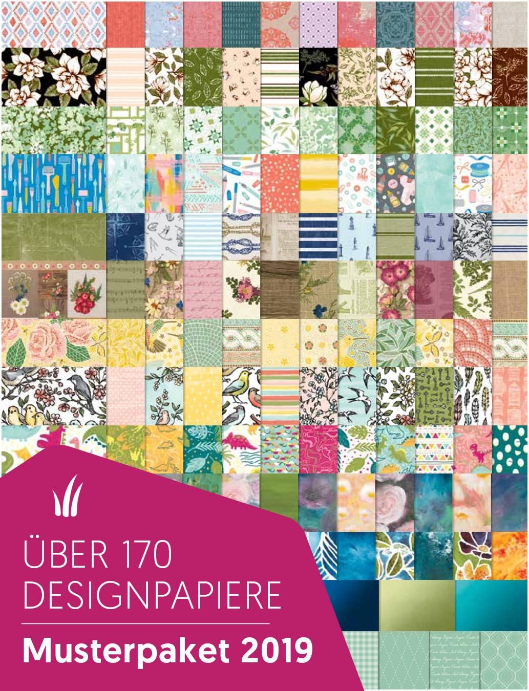 Designerpapier Share - Musterpakete 2019 1