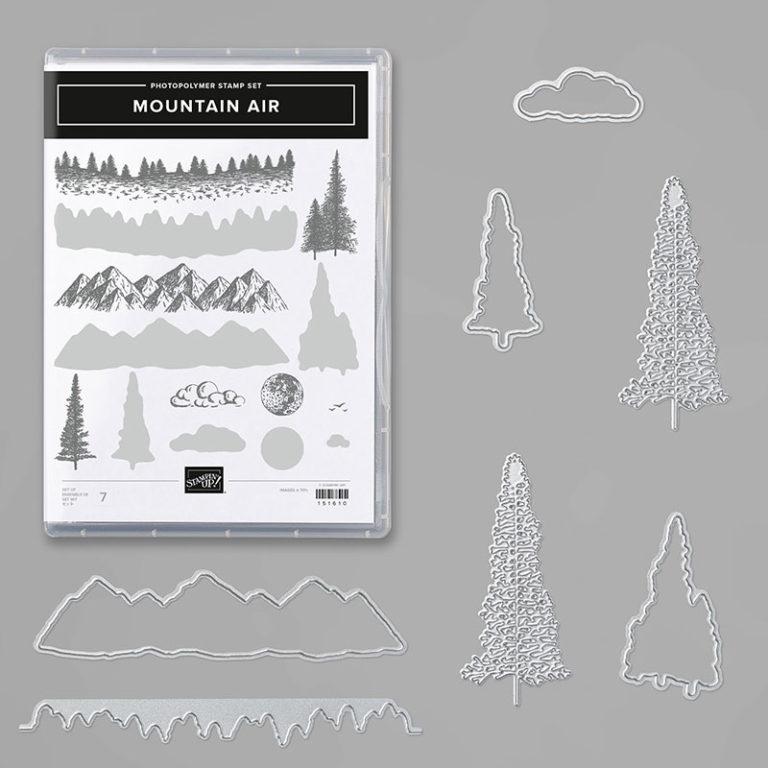 Stampin' Up! Produktpaket Mountain Air