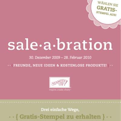 Stampin' Up! Sale-A-Bration Broschüre 2009