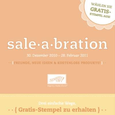 Stampin' Up! Sale-A-Bration Broschüre 2010
