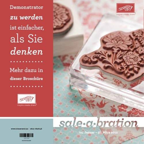 Stampin' Up! Sale-A-Bration Broschüre 2012