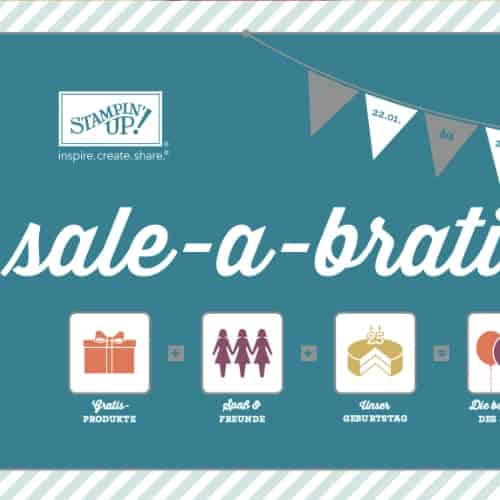 Stampin' Up! Sale-A-Bration Broschüre 2013