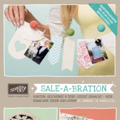 Stampin' Up! Sale-A-Bration Broschüre 2014