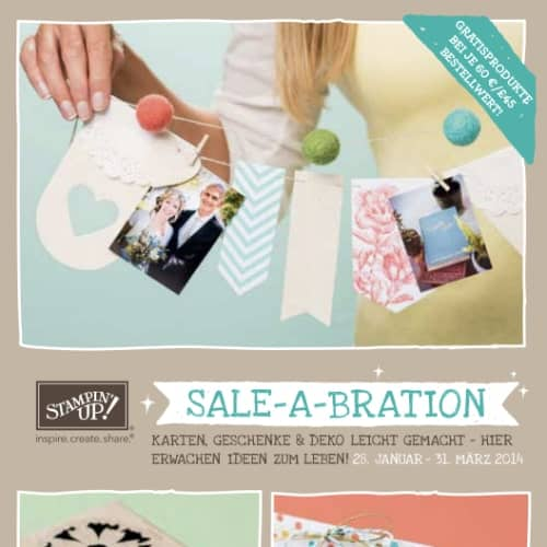 Stampin' Up! Sale-A-Bration Broschüre 2014