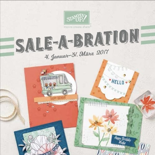 Stampin' Up! Sale-A-Bration Broschüre 2017