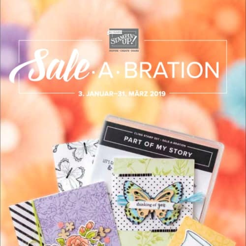 Stampin' Up! Sale-A-Bration Broschüre 2019