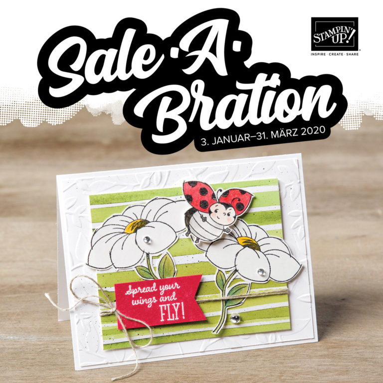 Stampin' Up! Sale-a-Bration 2020
