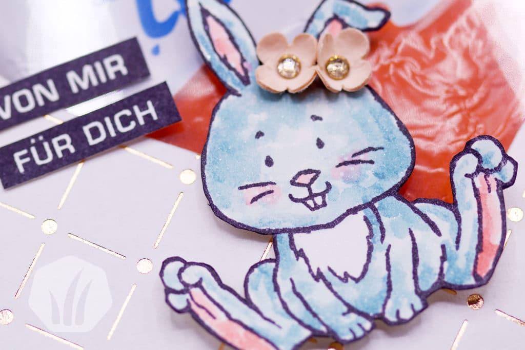 Ostergoodies: Geschenktüte Hase Osterschatz Details