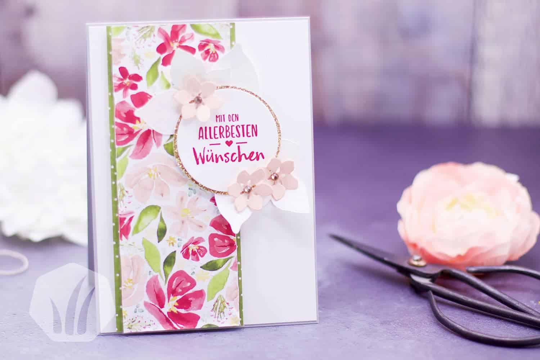 Stampin' Up!: Glückwunschkarte Blumen