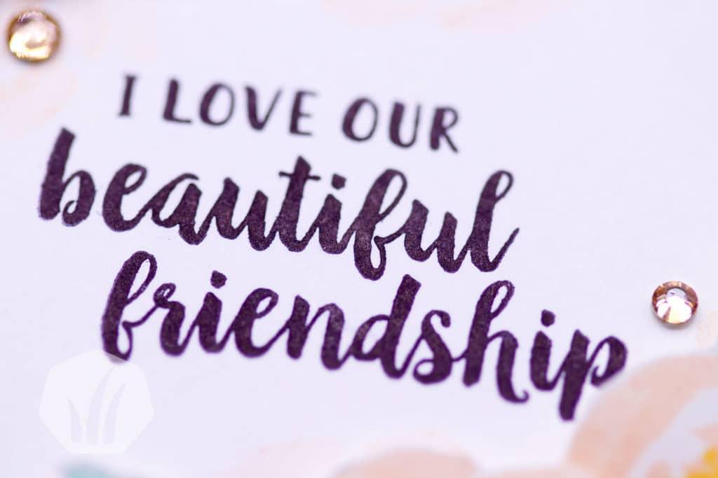Beautiful Friendship – Karte zur Freundschaft 3