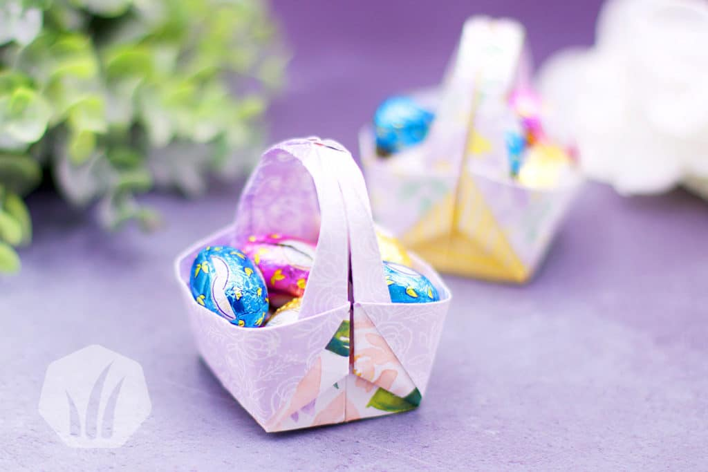 Kleines Präsent: Origami zu Ostern 1