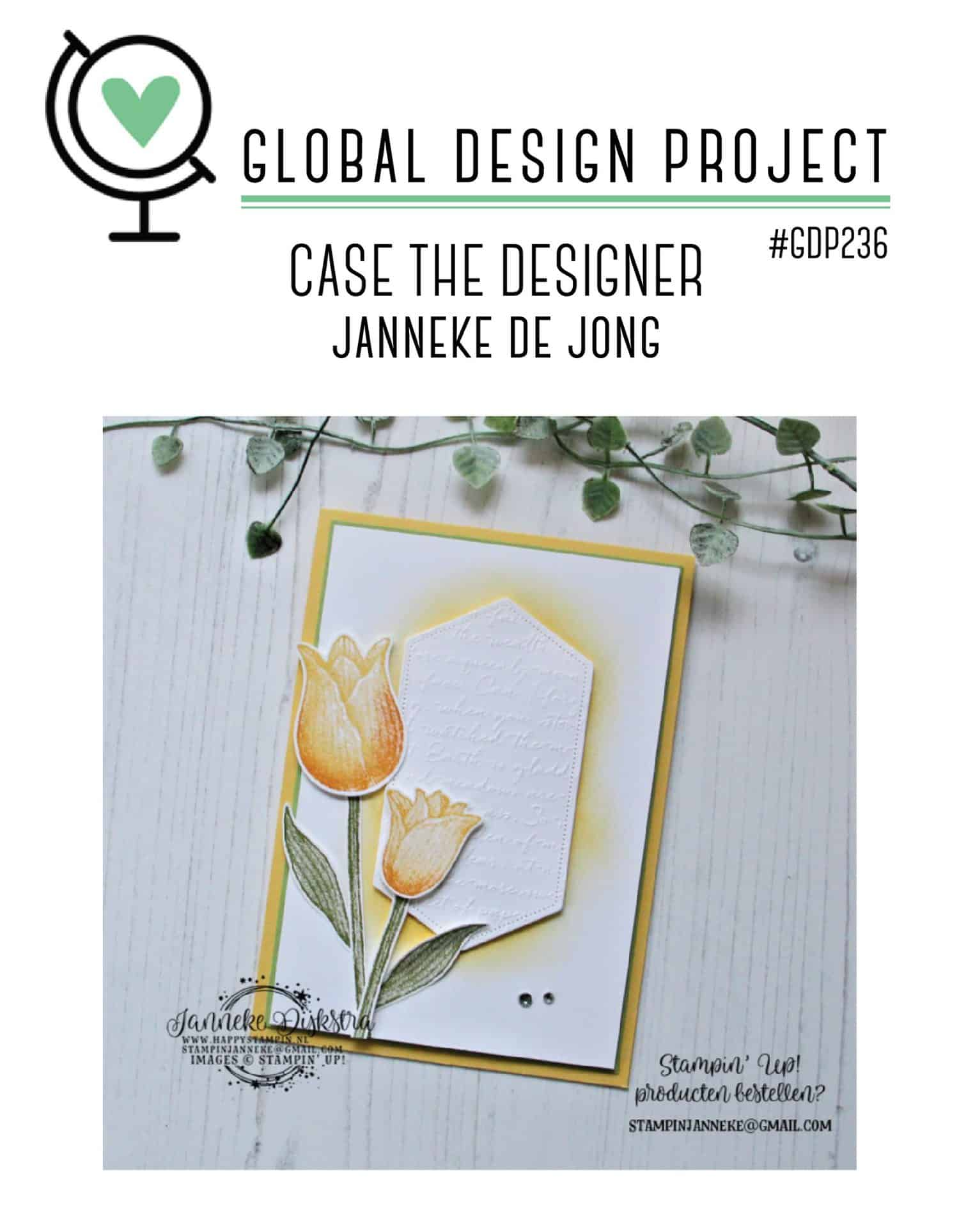 Global Design Project gdp236 Janneke de Jong
