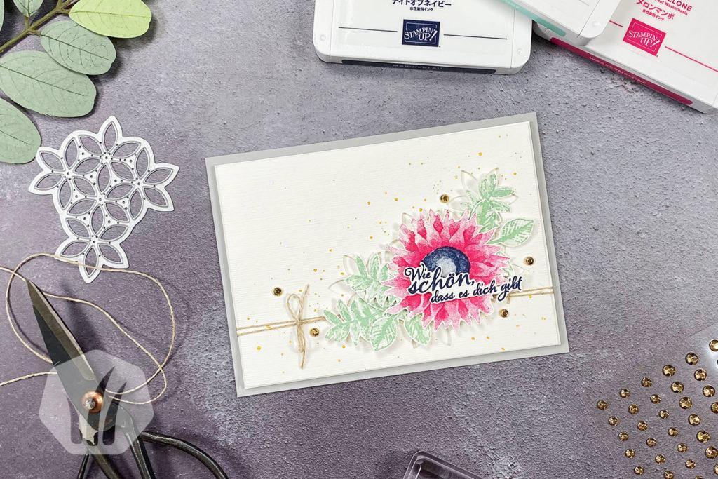 Grußkarte: Wie schön, dass es dich gibt! 1