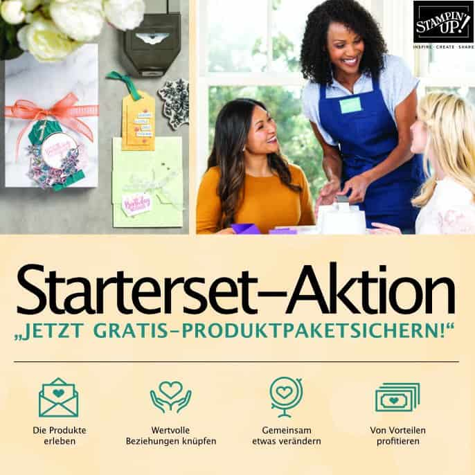 Stampin' Up! Angebot: Starterset-Aktion