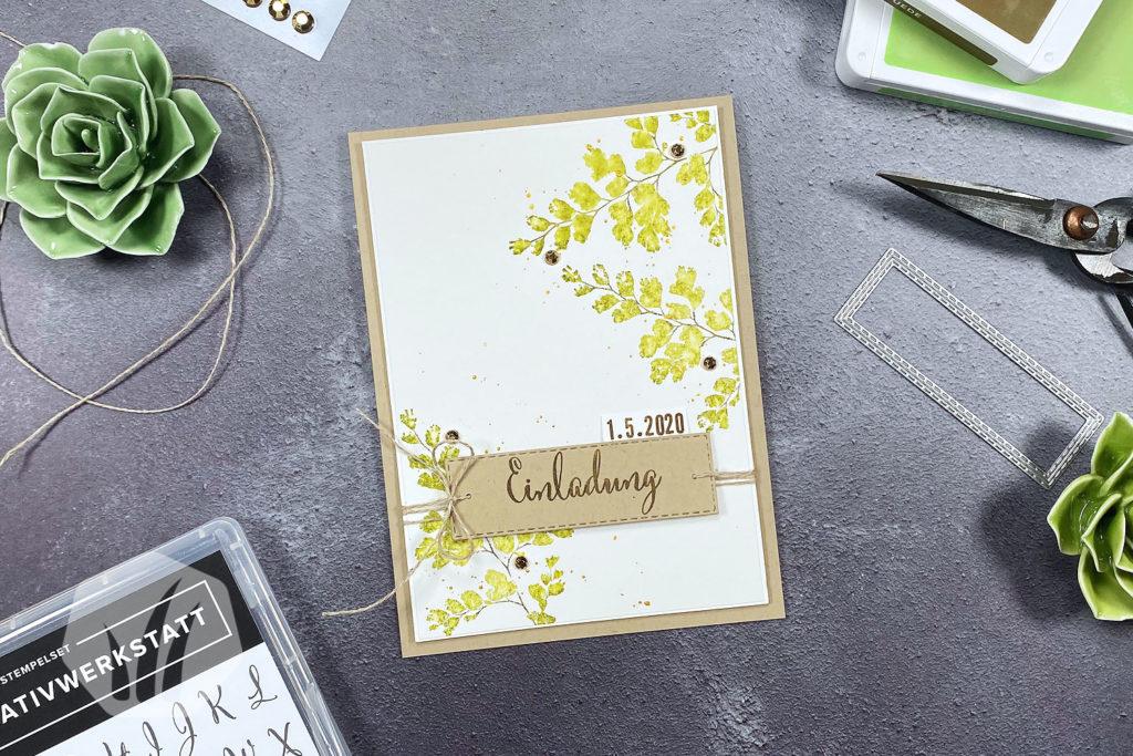 Hochzeitseinladung Hochzeitskarte