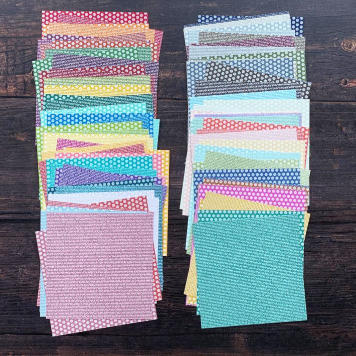 Designerpapier-Musterpakete / Papiershare 2020 2