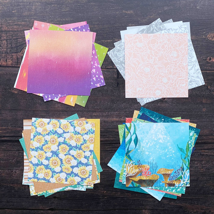 Designerpapier-Musterpakete / Papiershare 2020 1